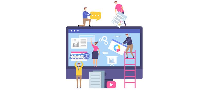 طراحی گرافیک سایت چیست ؟