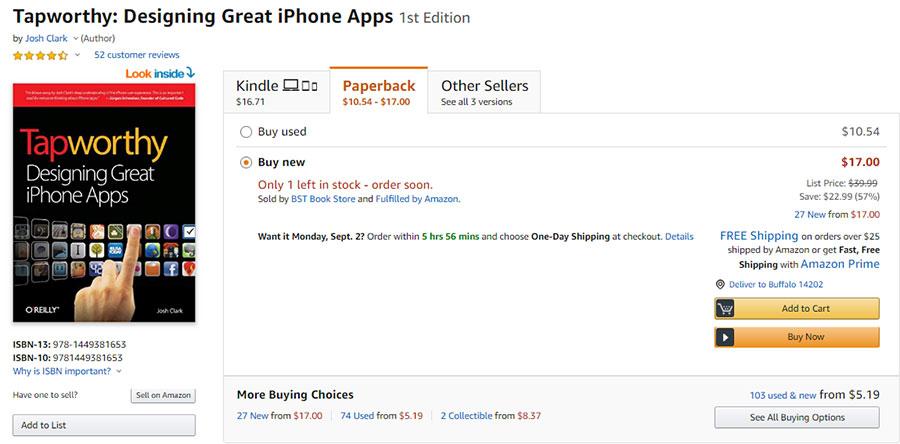 جاش کلارک، نویسنده کتاب Tapworthy و طراح اپلیکیشن های برتر برای آیفون