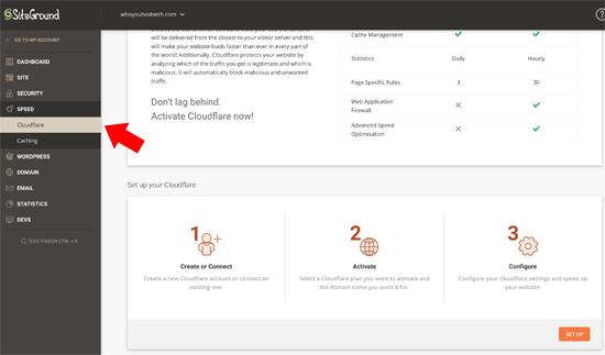 آموزش تنظیم CloudFlare Free CDN کلودفلر رایگان در وردپرس