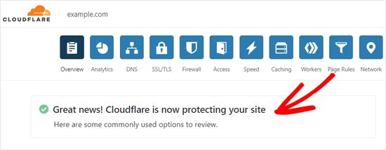 تنظیم Cloudflare CDN در وردپرس
