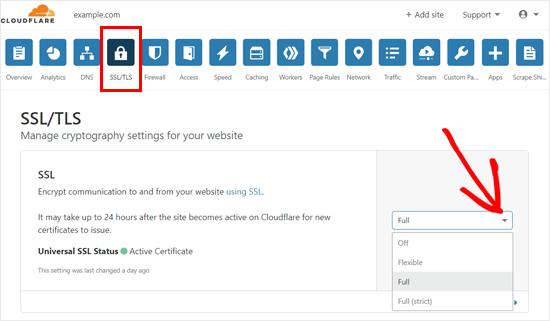 تنظیمات گواهی SSL را پیکربندی کنید