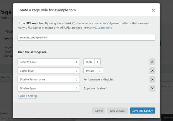 داشبورد وردپرس را از Cloudflare خارج کرده و امنیت بالا را فعال کنید
