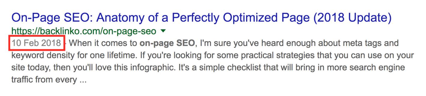 بروز بودن محتوا از فاکتورهای رتبه بندی گوگل