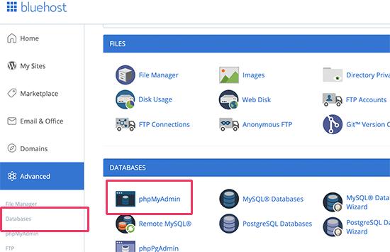 چگونه به PhpMyAdmin دسترسی پیدا کنیم؟