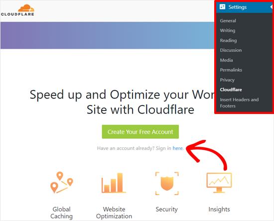 بهینه سازی Cloudflare برای وردپرس با استفاده از افزونه