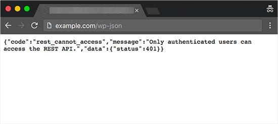 API Rest برای سلامت سایت وردپرس