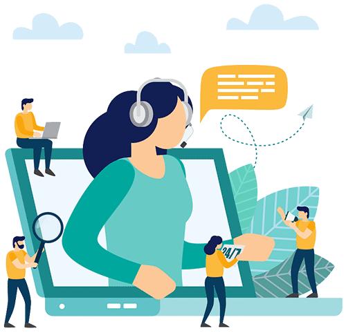 ارتباط با آکادمی کسب و کار اینترنتی وبکیما