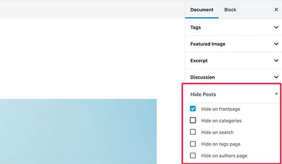 پنهان کردن پست ها با افزونه WordPress Hide Posts