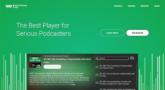 بهترین هاست پادکست شرکت Smart Podcast Player