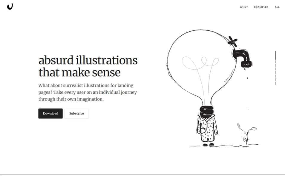 سایت Absurd Design یک منبع عالی برای دانلود انواع وکتورهای گرافیکی