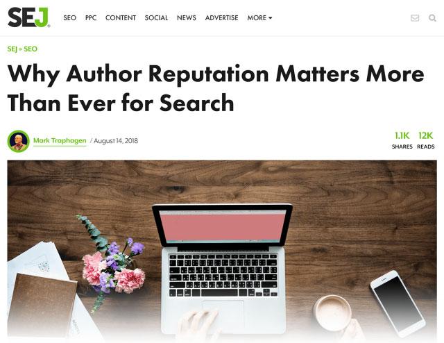 Google ممکن است از شکلی از Google Authorship استفاده کند
