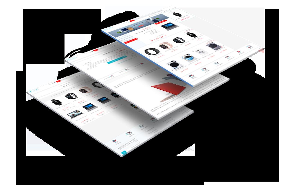 طراحی سایت مهرکالا شبیه دیجی کالا