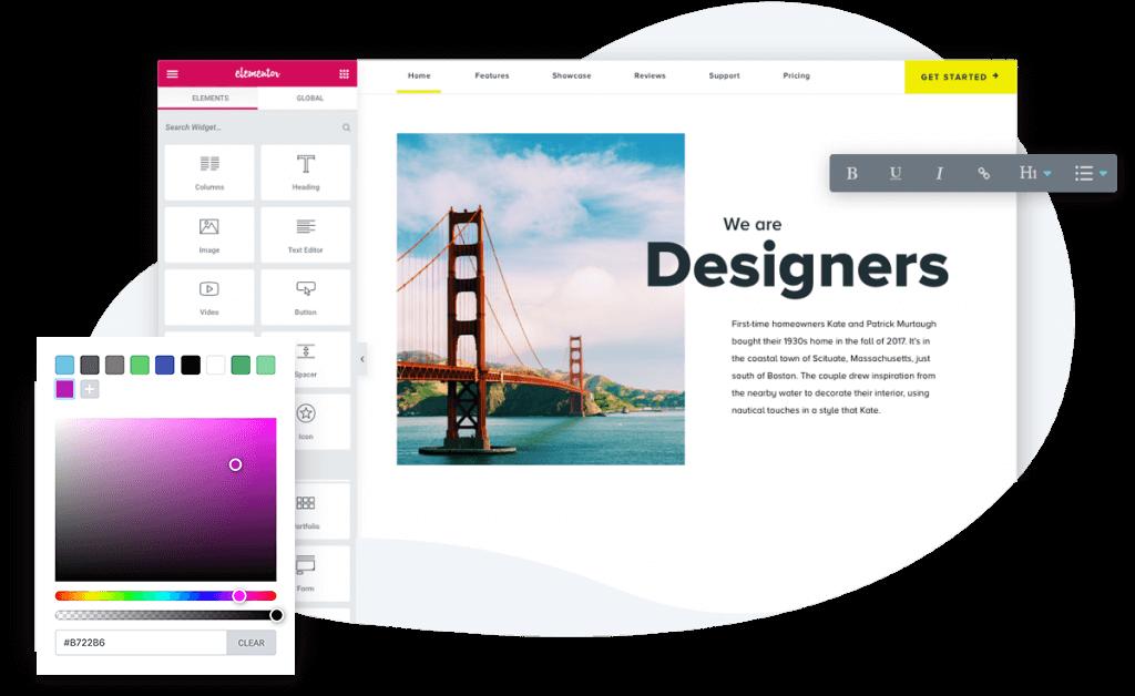 طراحی حرفه ای سایت با المنتور