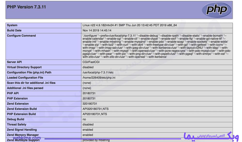 فهمیدن نسخه PHP سایت در سایت های غیر وردپرسی