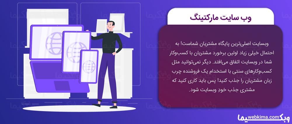 دیجیتال مارکتینگ چیست؟ - وب سایت مارکتینگ (Website Marketing)