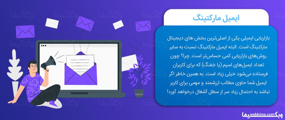 دیجیتال مارکتینگ چیست؟ - ایمیل مارکتینگ یا Email Marketing