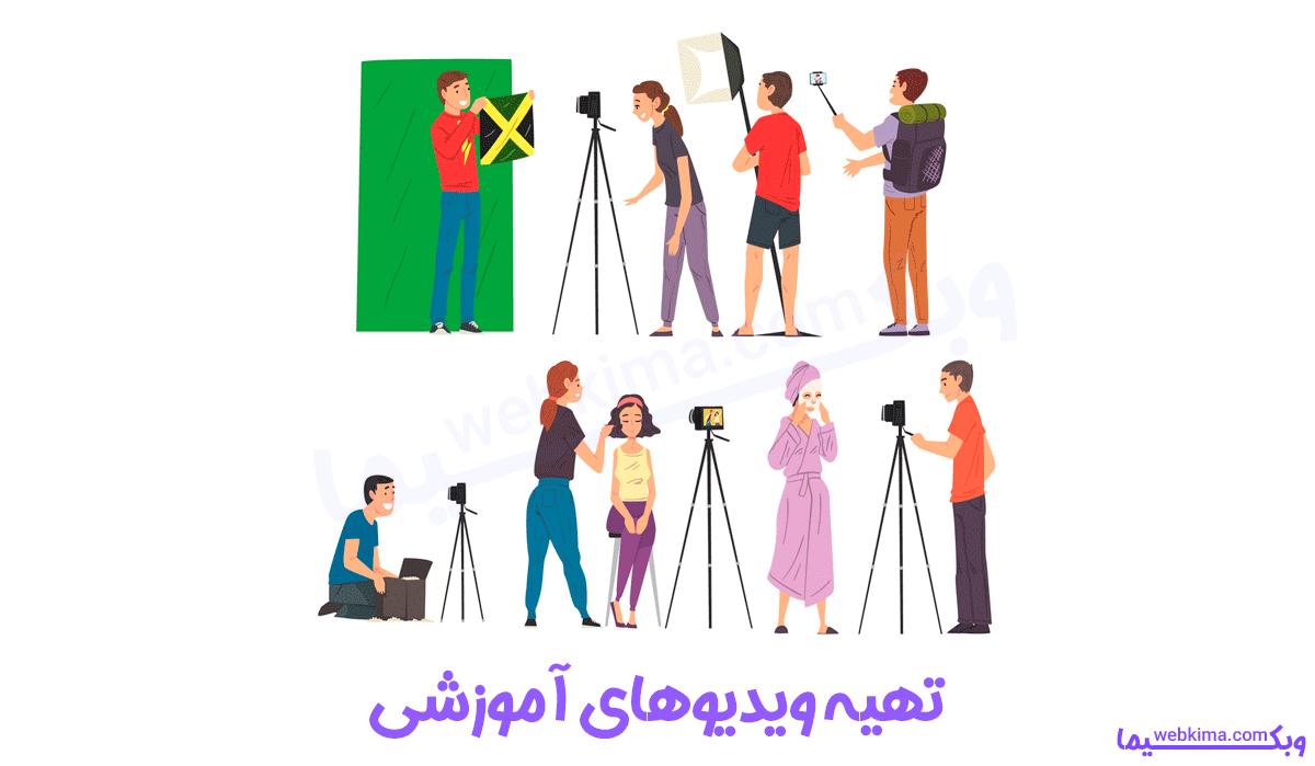 تهیه ویدیوهای آموزشی پرطرفدار برای درآمد از یوتیوب