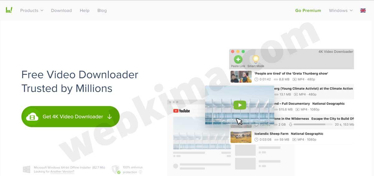 ذخیرهسازی ویدیوهای یوتیوب با نرمافزار 4K Video Downloader