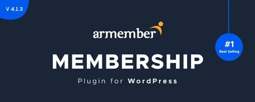 افزونه ARMember - یکی از افزونههای ساخت حساب کاربری در وردپرس