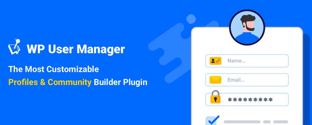 افزونه WP User Manager - یکی از بهترین افزونههای پنل کاربری پیشرفته وردپرس