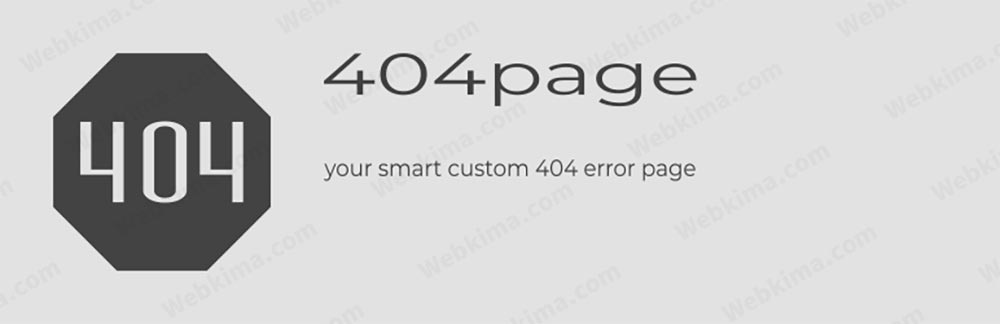 افزونه 404page – your smart custom 404 error page