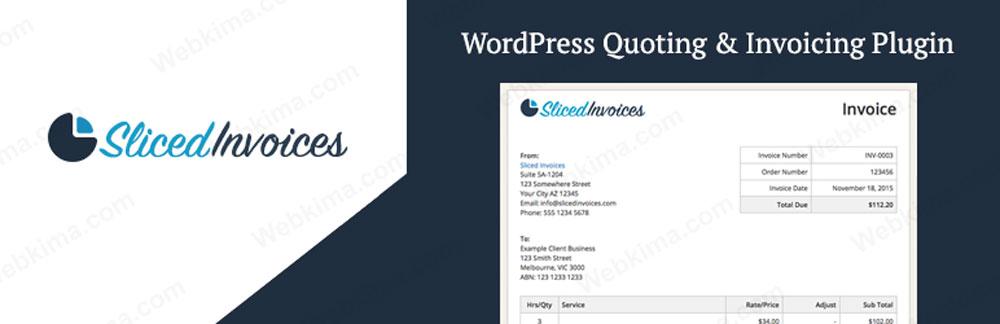 بهترین افزونه های صدور فاکتور ووکامرس - Sliced Invoices