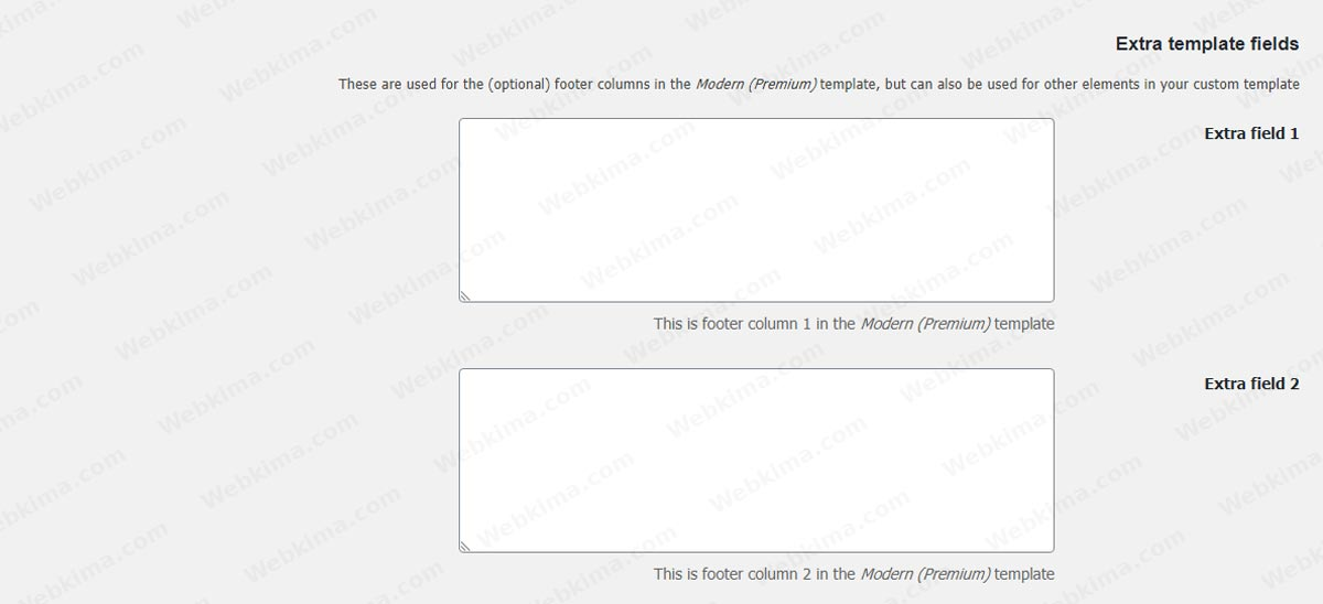 فیلدهای اضافه در صدور فاکتور ووکامرس با WooCommerce PDF Invoices