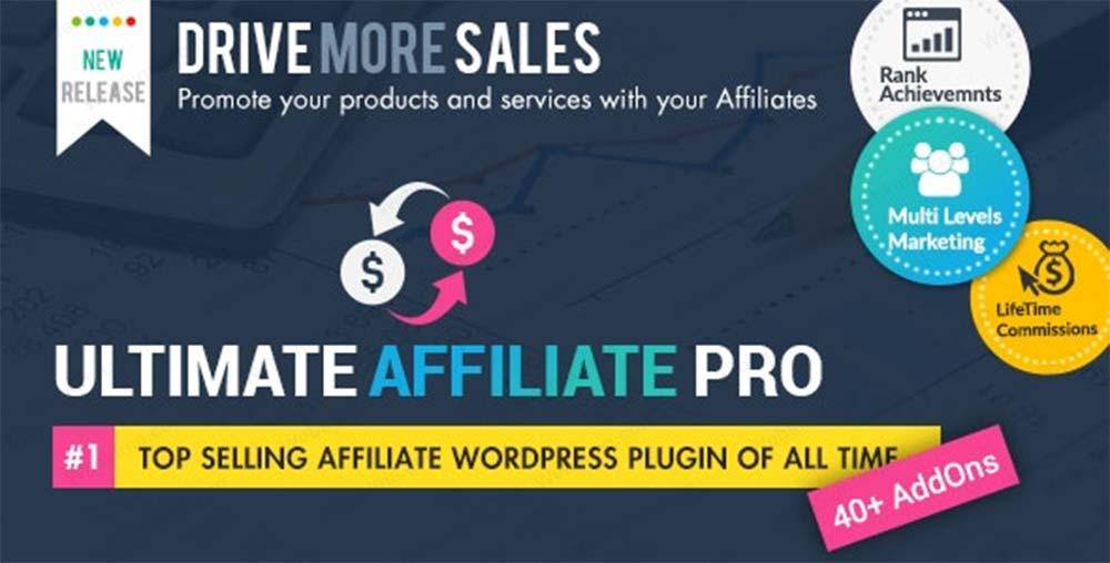 افزونه Ultimate Affiliate Pro همکاری در فروش برای وردپرس