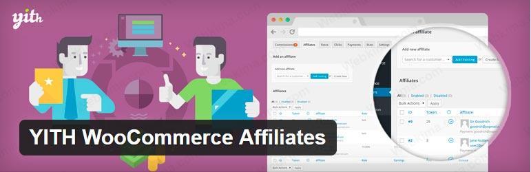بهترین افزونه همکاری در فروش وردپرس  - Yith WooCommerce Affiliates