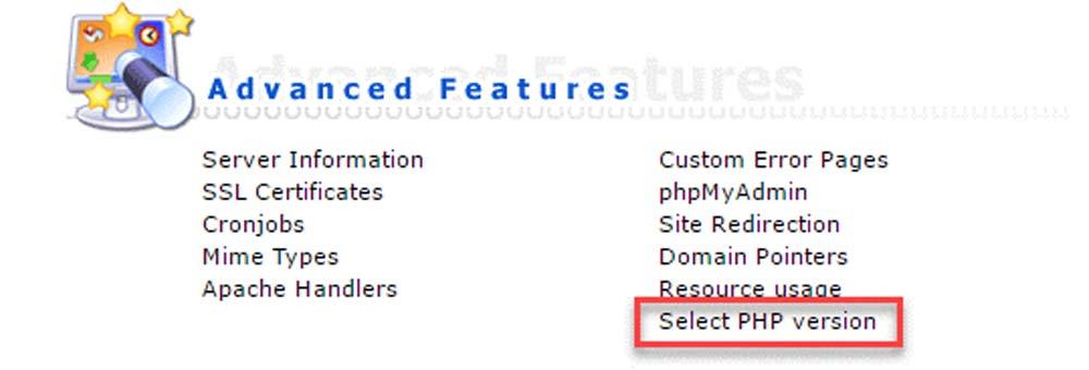 تغییر نسخه PHP وردپرس در هاست DriectAdmin