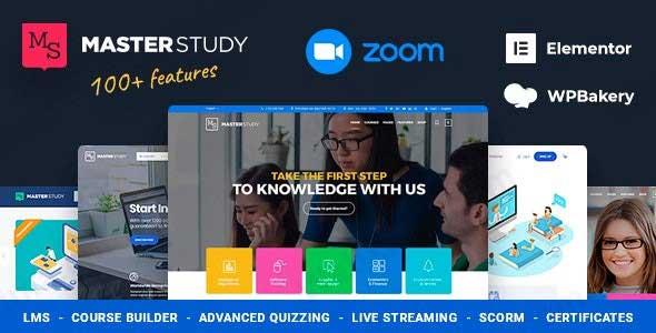 قالب آموزشگاهی Masterstudy