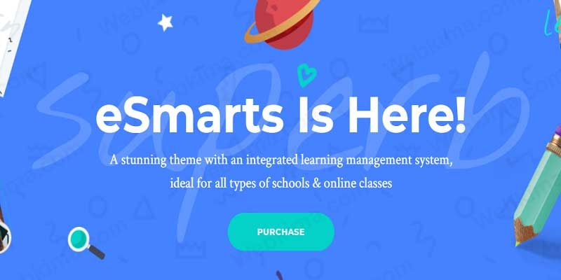 قالب آموزشی وردپرس eSmarts