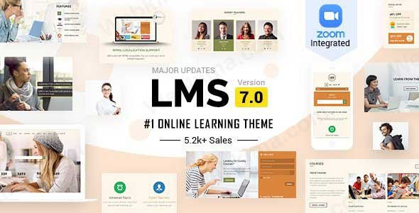 بهترین قالب آموزشگاه انلاین وردپرس - قالب LMS