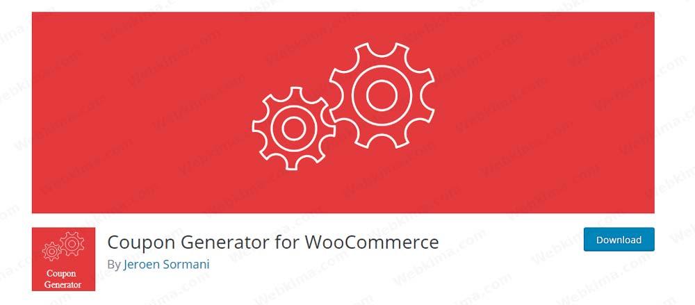 افزونه Coupon Generator for WooCommerce - افزونه تخفیف پیشرفته ووکامرس