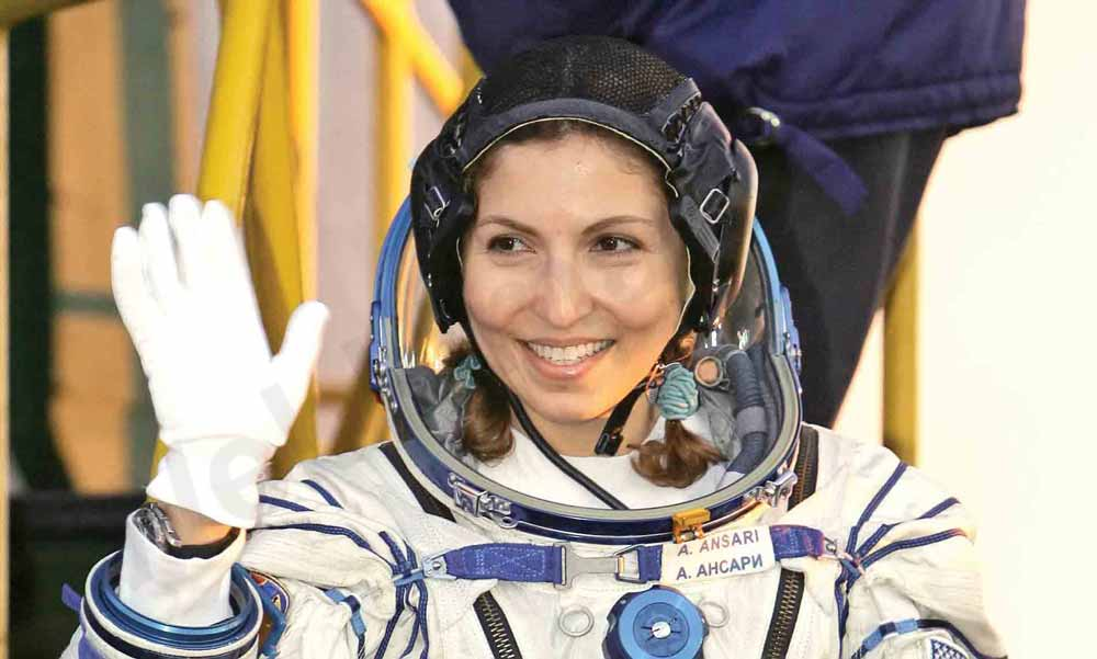 انوشه انصاری، یکی از موفقترین زنان ایرانی
