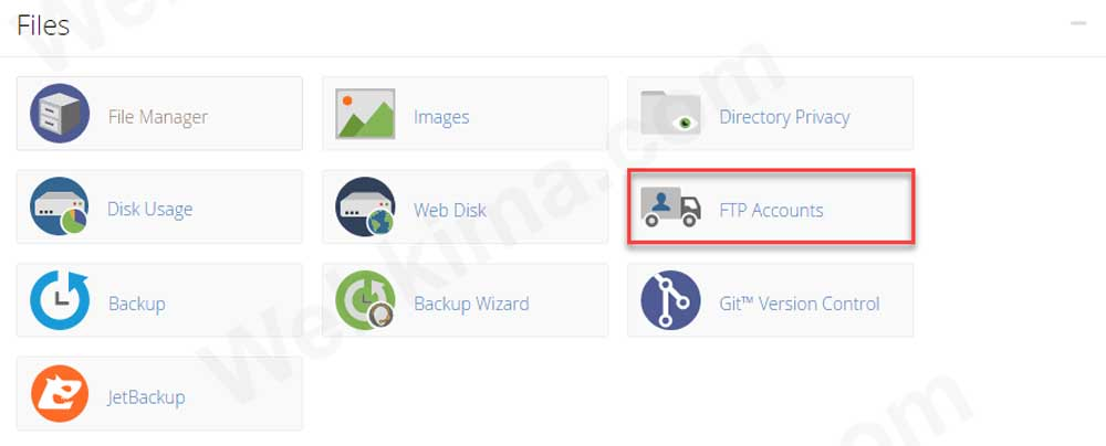 ftp جیست؟ مراحل ساخت FTP اکانت در سی پنل