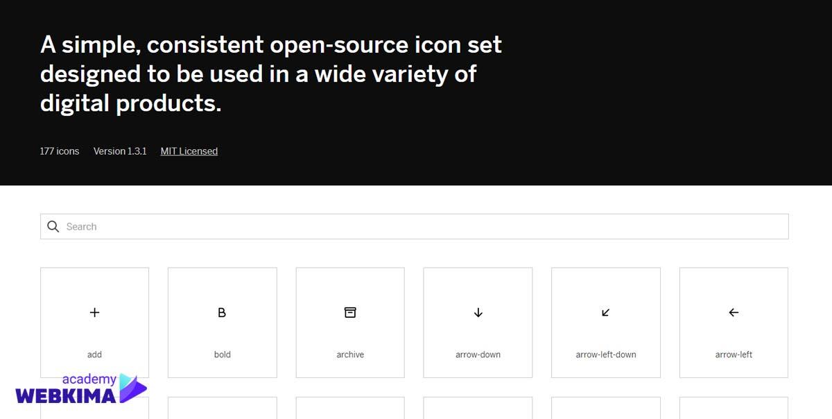 بهترین منابع دانلود آیکون های رایگان - سایت Mono Icons