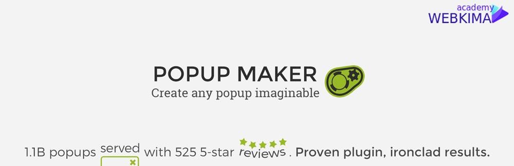 یکی از بهترین افزونه های ساخت پاپ آپ در وردپرس Popup Maker